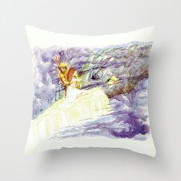 TALE'S END Throw Pillow