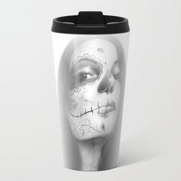 'Dia De Los Muertos Rachel' Travel Mug