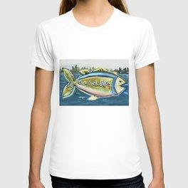 Cedar Creek Lake Fish T-shirt