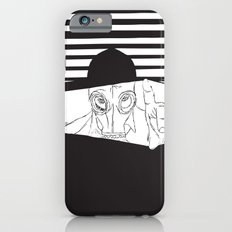 Man in the Mask -Watching your Walls Slim Case iPhone 6s