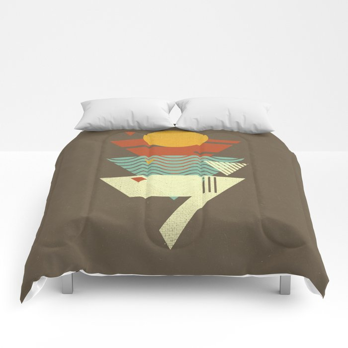 Sun. Sea. Sand. Shark. Comforters
