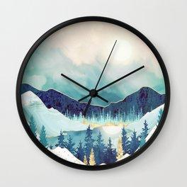 Sky Reflection Wall Clock