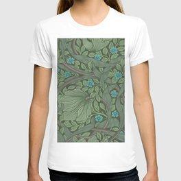 William Morris Art Nouveau Forget Me Not Floral T-shirt