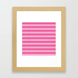 Knitting Framed Art Print