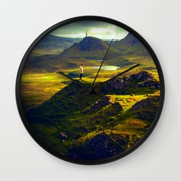 The Mountain Men Wall Clock