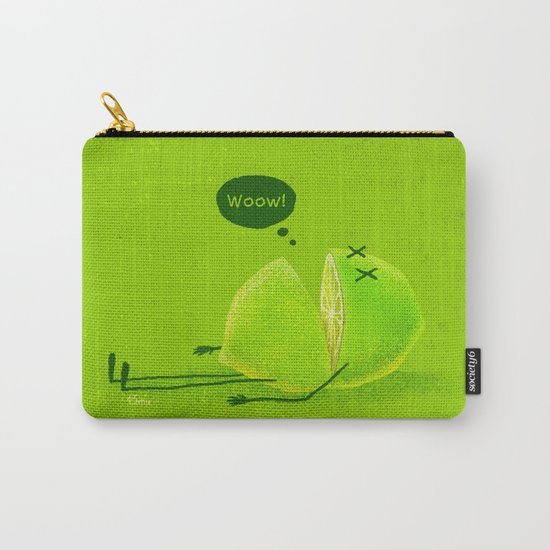 Lime Carry-All Pouch