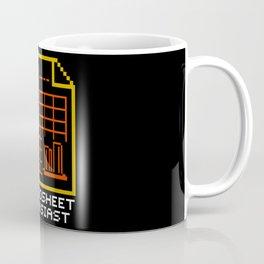 Spreadsheet Enthusiast  Coffee Mug
