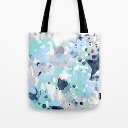 Riley - abstract gender neutral nursery home office dorm decor art abstract painting Tote Bag