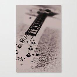 Blurred Rhythm Canvas Print