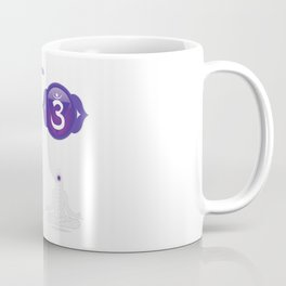 Third Eye Chakra - Ajna Chart & Illustration Coffee Mug