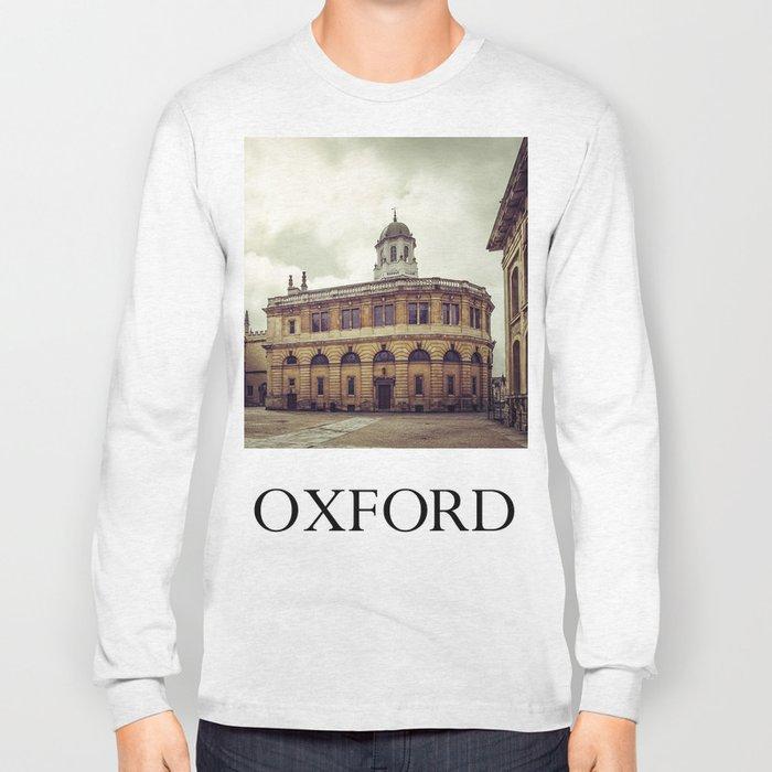 Oxford: Sheldonian Theater Long Sleeve T-shirt