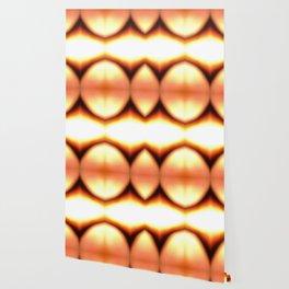 Abstract Orange Glow Wallpaper