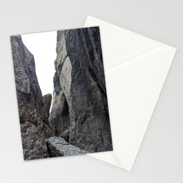 in between rocks - nature observation Stationery Cards