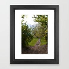sefton park part 2 Framed Art Print