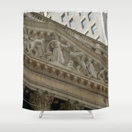 Finance Bros Shower Curtain