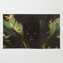 Hello Panther! Rug