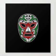 Mexican Wrestling Mask - Color Edition Canvas Print