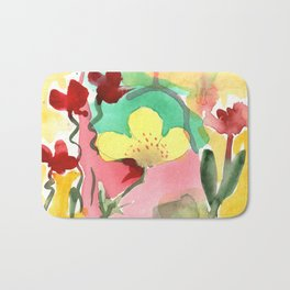 One Minute Painting Bath Mat