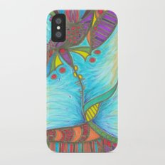 Dawn's Tangled Flower iPhone X Slim Case
