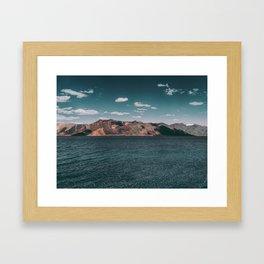 Beautiful Pangong Lake Framed Art Print