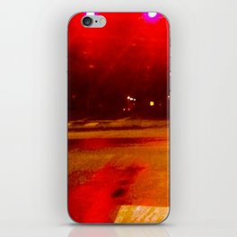 Crimson Camber iPhone Skin
