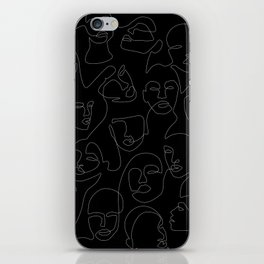 Face Lace iPhone Skin