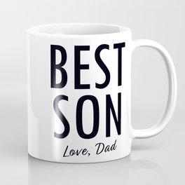 BEST SON love dad Coffee Mug