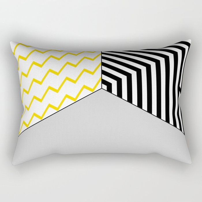 Geometric Circle #2 Rectangular Pillow