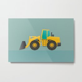 Loader Metal Print
