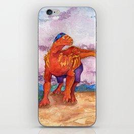 Beach Ball Dinosaur - Barney iPhone Skin