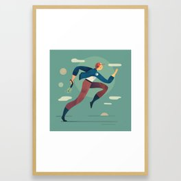 Space Cadet Framed Art Print