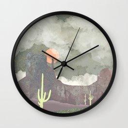 Desertscape Wall Clock
