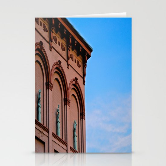 Cherubs on the Ledge Stationery Cards