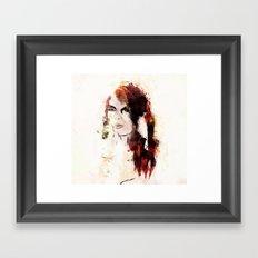 Color Me Autumn Framed Art Print