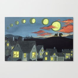 Witch Rumors Canvas Print