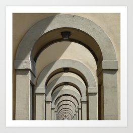 Florence archways Art Print