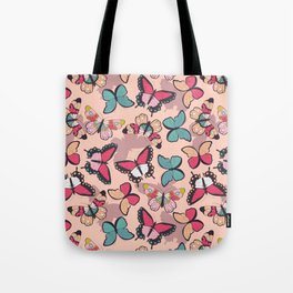 Butterfly pattern 003 Tote Bag