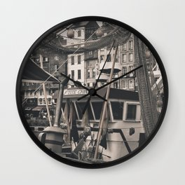 Harbor Le Havre France Wall Clock