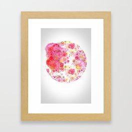 Sircle Framed Art Print