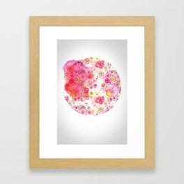 Sircle Framed Art Print