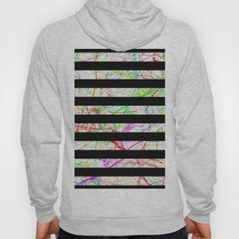 Marble, Stripes And Colour Hoody