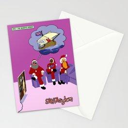 SANTAsylum - Queen's Speech Stationery Cards
