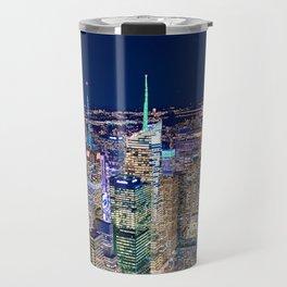 New York City Skyline Travel Mug