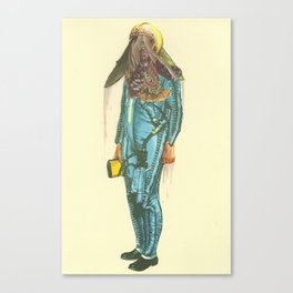 Here a Bone, There a rag  Canvas Print