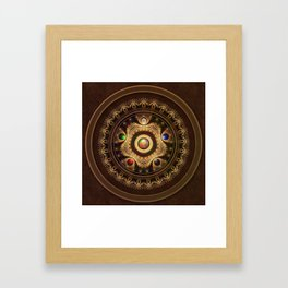 Gathering the Five Fractal Colors of Magic Framed Art Print