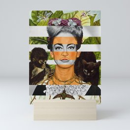"""""""Self Portrait with Thorn Necklace"""" & Joan Crawford Mini Art Print"""