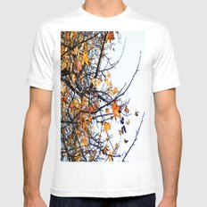 Fall Mens Fitted Tee White MEDIUM