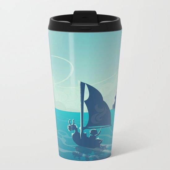 Zelda Wind Waker Metal Travel Mug