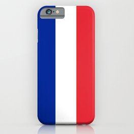 Flag of France, Authentic color & scale iPhone Case