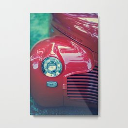 The Cool Factor (Red) Metal Print